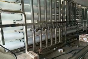 25吨双级反渗透+EDI超纯水设备