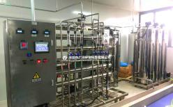 一级二级纯水处理设备的工艺流程详解